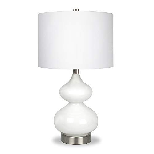 Henn&Hart TL0038 Double Gourd Lamp One Size - White Gourd