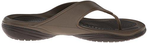 Crocs Unisex MODI 2 Flip-Flop Walnut/Espresso gUsWuxa