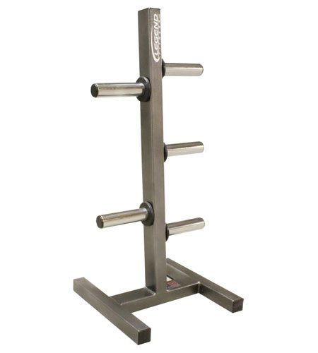 Ironcompany Legend Fitness 3193 USA-Made Heavy-Duty Olympic Peg Plate Holder - Olympic Plate Rack - Olympic Plate Tree by Ironcompany
