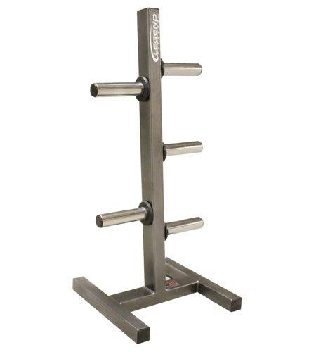 Legend Fitness 3193 USA-Made Heavy-Duty Olympic Peg Plate Holder - Olympic Plate Rack - Olympic Plate Tree by Ironcompany.com