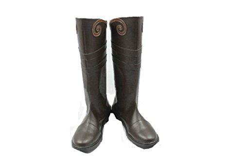 Devil May Cry 3 Costumes (Devil May Cry 3 Dmc3 Vergil cosplay costume Boots Boot Shoes Shoe)