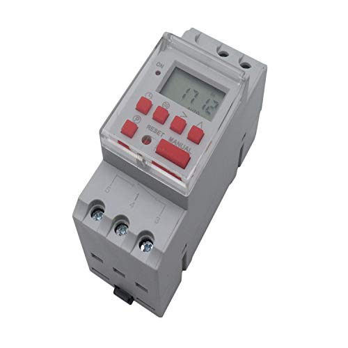 Yootop NBL25T Programmable Timer Electric Digital Din Rail Time Switch AC240V - Timer Din