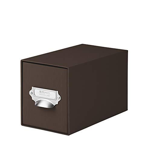 RÃssler 1327452870 CD Drawer Storage Box One Colour Espresso ()