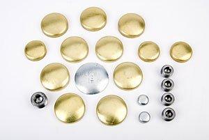 (JEGS 58010 Brass Freeze Plug Kit)
