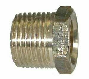 Midland Metal 28107 Brass 1/2 X 3/8 Mip X Fip Bs Bushing (Pack Of 10)