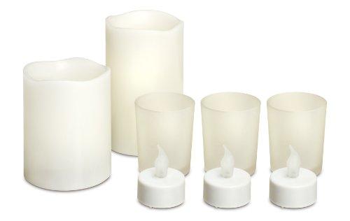 Generic LCS-12/2379 8-Piece LED Candle Set Safely Illuminate