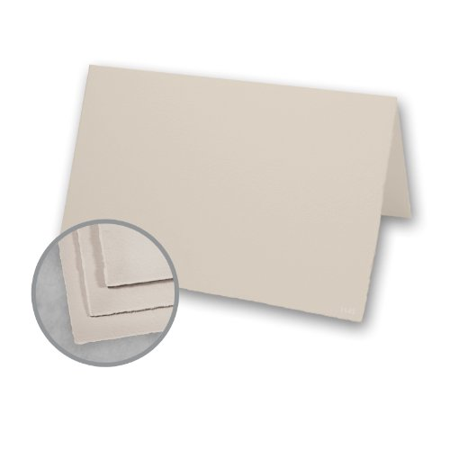 Cards Arturo Folded (Arturo Stone Gray Folded Cards - Arturo Large Invitation Folded (7.88 x 11.75) 96 lb Cover Felt 100 per Box)