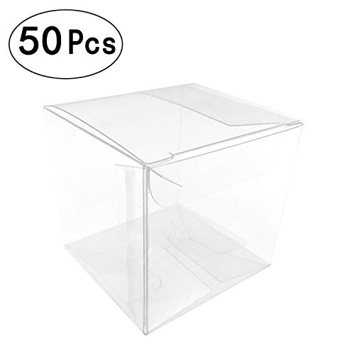 Clear Cube Box Transparent Candy Box Plastic Thank