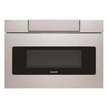 (Sharp SMD2470AS Microwave Drawer Oven, 24-Inch 1.2 Cu. Feet, Stainless Steel)
