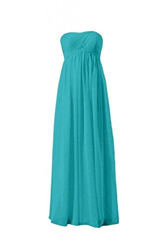 Dress Beach Dress cyan Empire Long Wedding Formal BM10821L 44 Bridesmaid DaisyFormals qt0dwt