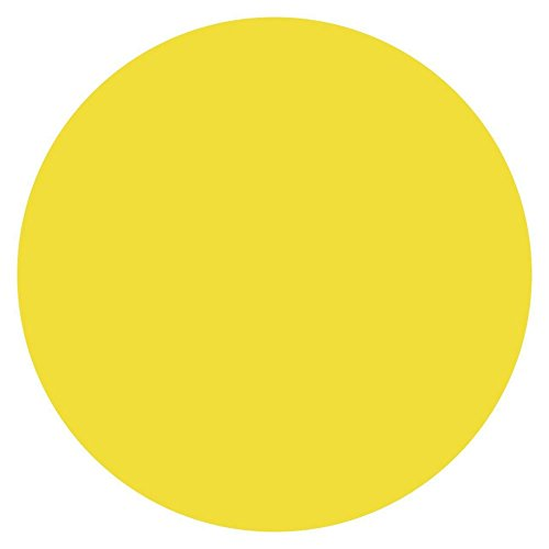 DayMark 112239 MoveMark Yellow 3/4 Blank Day Circle - 2000/RL by DayMark Safety Systems