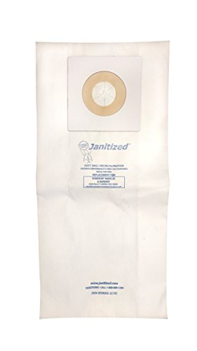 - Janitized JAN-WIWAV-2(10) Premium Replacement Commercial Vacuum Paper Bag for Windsor Wave 28