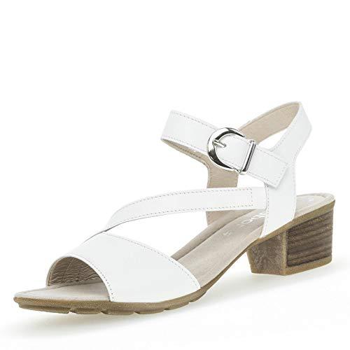 Fitting Cinturini Gabor Di Cinturino Con scarpe 564 sandali sandali confortevoli sandali 24 Estate Weiss Donna Il best wXXA4Zq