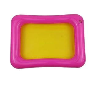 Greatangle Vassoio di Sabbia Gonfiabile Castle Mobile Table Sandbox in PVC Vassoio sensoriale Divertente Gioco al… 2 spesavip