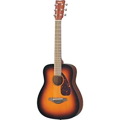 yamaha-jr2tbs-3-4-scale-guitar-tobacco