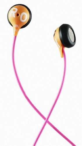 ROXY by JBL Reference 230 Earbud Headphone - Orange/Pink
