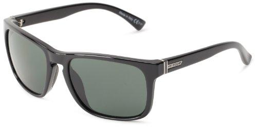 VonZipper Lomax Square Sunglasses,Black Gloss,One - 2015 Sunglasses Dj