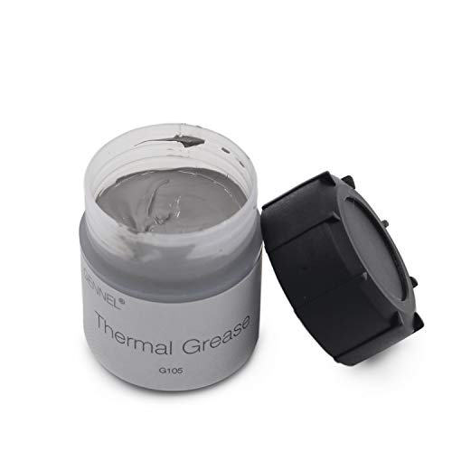 GENNEL 20g Grey Compound Thermal Conductive Grease Paste for PC CPU GPU Chipset Ovens Cooling