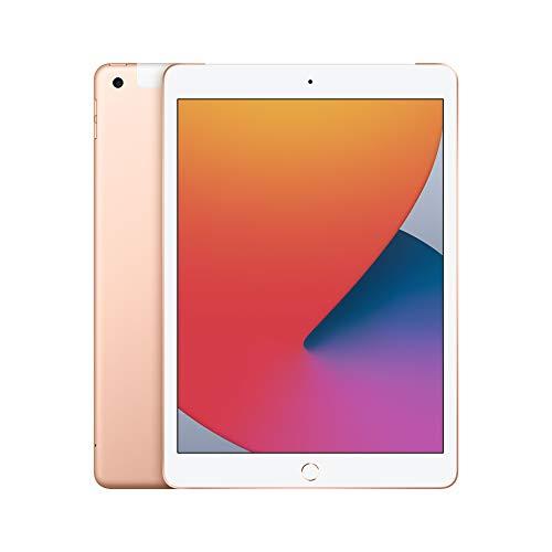 Nuevo Apple iPad (de 10,2Pulgadas, con Wi-Fi + Cellular y 32GB) – Oro (Ultimo Modelo, 8.ªgeneración)