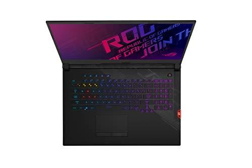 "ASUS ROG Strix Scar 17 Gaming Laptop, 17.3"" 300Hz FHD IPS Type, NVIDIA GeForce RTX 2070 Super, Intel Core i7-10875H, 16GB DDR4, 1TB PCIe SSD, Per-Key RGB Keyboard, Wi-Fi 6, Windows 10, G732LWS-DS76"