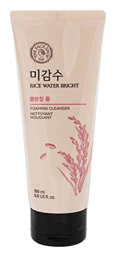 The Face Shop Rice Water Bright Cleansing Foam  &Lip Eye Rem