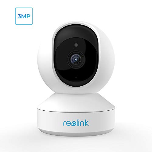 Wireless Security Camera, Reolink 3MP HD Indoor WiFi Pet Camera Home Security System, Pan Tilt Baby Monitor with Phone App,...