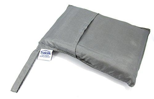 Double Treksilk Gray Art Silk Liner Sleeping Bag Inner