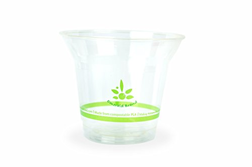 Emerald EMRPLA9 Compostable Cold Clear product image