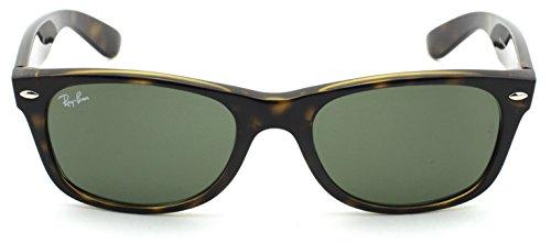 Sunglasses Havana G ban 15 Lens Rb2132 New 902 Frame Unisex Ray Wayfarer Classic Green Y0vxdwa