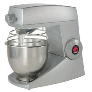 Varimixer V5S Teddy, Aluminum Frame with Powder Coated Finish, All Attachments and Bowl Made of Stainless Steel, Silver
