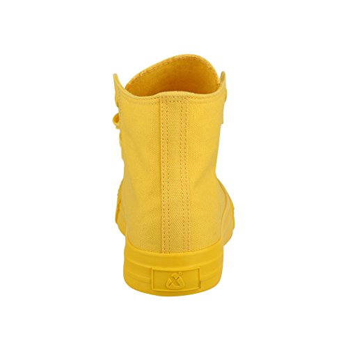 Loisirs Tissu High De Unisexe Sport Yellow All Chaussures Elara Top Sneakers xTqS7W8w