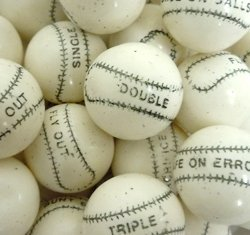Gumballs - Baseball-850 ct. case (16 lbs.) by Concord 850 Ct Case