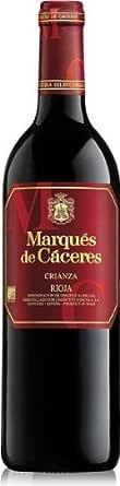Marques De Caceres - Vino Tinto Crianza Botella 75 cl