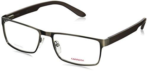 Carrera 6656 Eyeglass Frames CA6656-09T6-5818 - Dark Ruthenium / Matte Black Frame, Lens Diameter (Dark Ruthenium Matte)