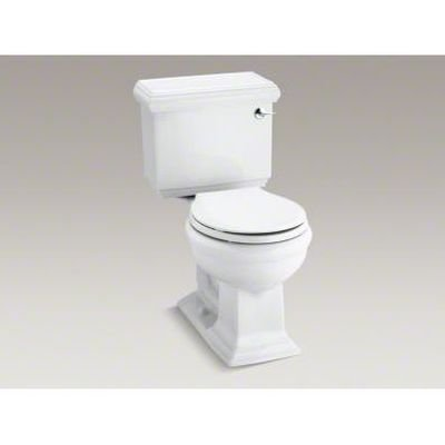 Memoirs Classic Comfort Height Two-Piece Round-Front 1.28 GPF Toilet with Aquapiston Flush Technology and Right-Hand Trip Lever Finish: White - Kohler Memoirs Bidet
