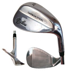 Confidence Golf Carbon Steel 6406 Lob Wedge Chrome Finish