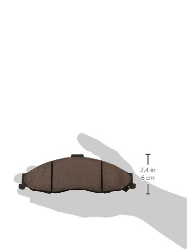 Centric 105.0749 Posi-Quiet Ceramic Brake Pad with Shims StopTech 105.07490