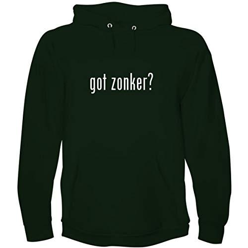 (The Town Butler got Zonker? - Men's Hoodie Sweatshirt, Forest, Large)