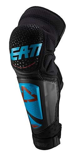 Leatt 2019 3DF Hybrid EXT Knee & Shin Guards (XX-Large) (Fuel/Black)