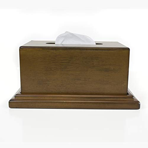 American Furniture Classics Concealment Tissue Box, Walnut