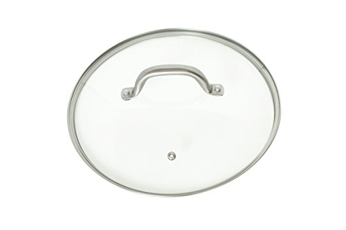 Glass Frying Pan Lid, 10.25 Inch Tempered Glass Cookware Lid