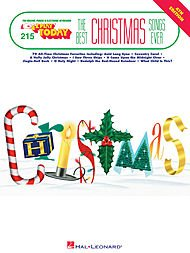 E-z Play Today #215 - Best Christmas Songs Ever. (3rd Edition). By Various. For Organ, Piano/keyboard, Electronic - Christmas Ever The Best Play