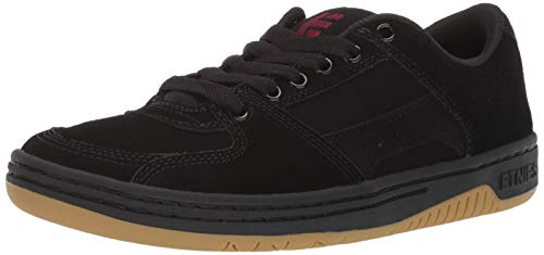 Etnies Men's Senix LO Skate Shoe Black/Gum, 9.5 Medium US