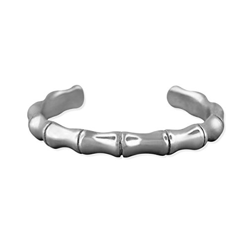 Sterling Silver Bamboo Toe (Bamboo Sterling Silver Ring)