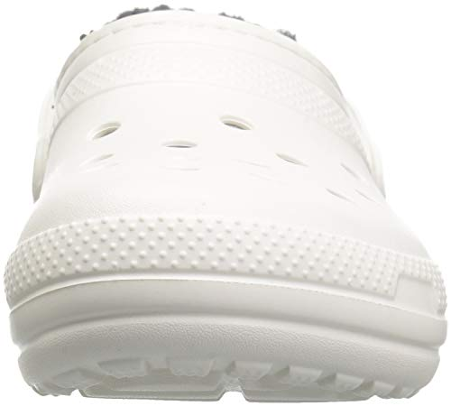 White Mixte grey Lined Adulte Clog Sabots Classic Crocs wnqx6a6C