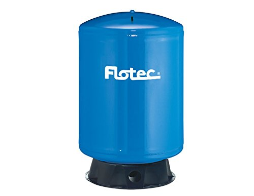 Flotec Vertical Pre-Charged Water System Tank - 85-Gallon Capacity, Equivalent to a 220-Gallon Capacity Tank, Model# FP7130 ()