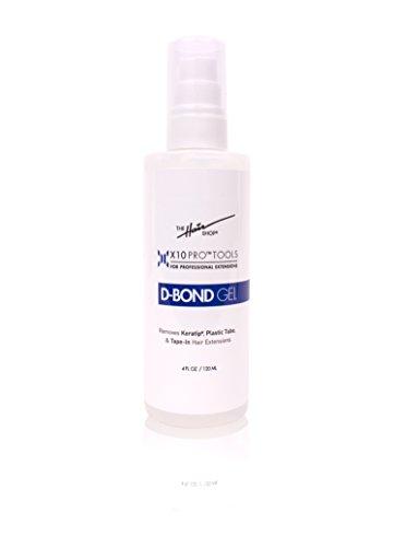 (X10 Pro-Tools Keratin Glue Fusion Pre Bonded U-Tip D-bond Gel Remover For Super Or Regular Keratip )
