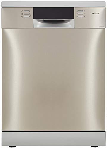 Faber 14 Place Settings Dishwasher (FFSD 8PR 14S, Silver, Inbuilt Heater)
