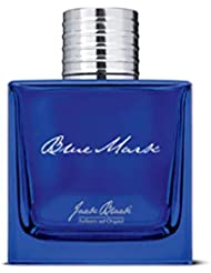 JACK BLACK – Blue Mark Eau de Parfum – Everyday Scent, Essential Oils, Watermint, Cilantro, Japanese Juniper, Ginger Essence, Driftwood, Patchouli, Bergamot, Refreshing Scent, 3.4 oz.