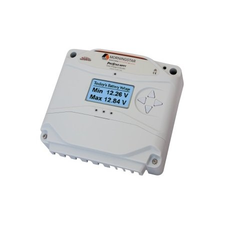 Morningstar - PS-MPPT-40M - 40A Prostar MPPT Solar Charge Controller w/ Meter by Morningstar